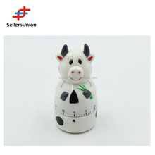 No.1 yiwu commission agent wanted cheap plastic animal pig shape kitchen timer YK008