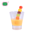 High quality good price ps material round plastic juice cup from GMF