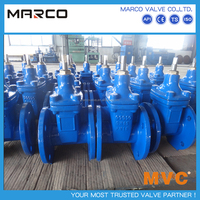 Best selling GGG40 GGG50 or other ductile iron and cast iron soft sealing flange connection gate valves