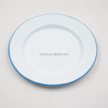 Outside sport Enamel Camping Tableware 26CM Plat <strong>Plate</strong>