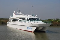 120 Passengers fiberglass catamaran fast ferry boat for sale