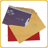 High popularity paper quilling envelopes