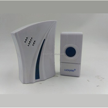 Smart Wireless Doorbell 32 Chords LED Door Bell AC 220-250V Receiver 100m Range for Home Office
