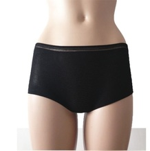Medicare disposable mesh women boxers Pregnant disposable panties Travelling women disposable boyshort
