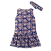 DREAM CRADLE Geometry Printed Dresses Frock Design for Baby Girl
