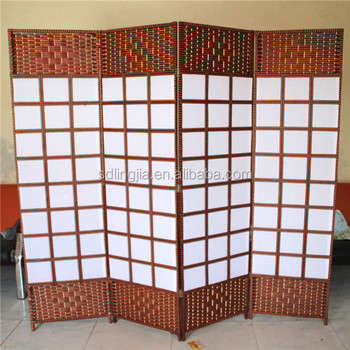 Wood Sample Free Standing Garden Screens Dining Hall Space Divider