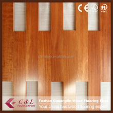 Foshan low price Kempas Solid Hardwood Flooring