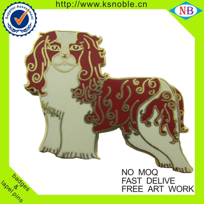 Hot sale customized epoxy enamel lapel pin for advisor