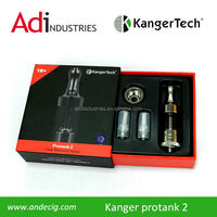 The Kanger Protank 2 from A&D Ecig is the big brother to the popular Protank from Kangertech