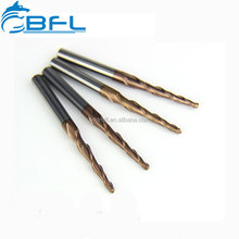 High Precision Taper Endmill Packed Cutter/CNC Wood Working Taper Cutting Tool Packed Sets