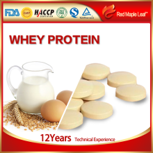 GMP Hot Natural Private Label Body Building Whey Protein Tablet