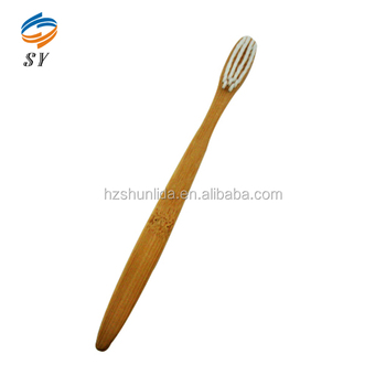 Cheap Wholesale Disposable Travel Adult Bamboo Toothbrush