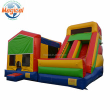 commercial bounce house with slide kids inflatable bouncer combo