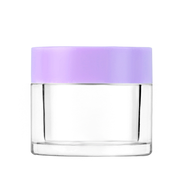 Wholesale 2 oz Acrylic Jar for Nails Dipping Powder Container Custom Private Logo