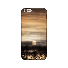 custom printing imd TPU case for iphone 6 with sun rises and tree pattern