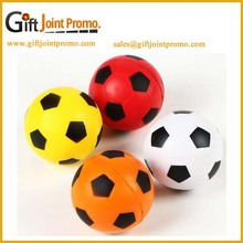 Cheap customized various size football Soft PU Stress Ball for kids