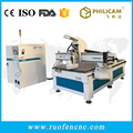 Chinese Philicam Woodworking Cnc Router/ ATC Wood Cnc Router/ 9kw air spindle