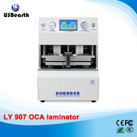 Free ship to Russia LY 907 all-in-one 12 inch auto in and out OCA laminator no need air compressor vacuum pump defoam machine