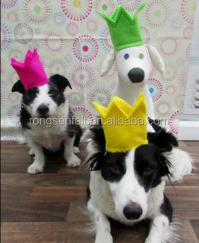 Dogs birthday party crown