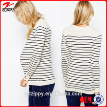 2014 New Fashion Wholesale China Maternity Clothes Striped Maternity Top