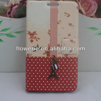 FL3243 Guangzhou 2013 hot selling cute korean flip leather phone case for samsung galaxy note n7000 i9220