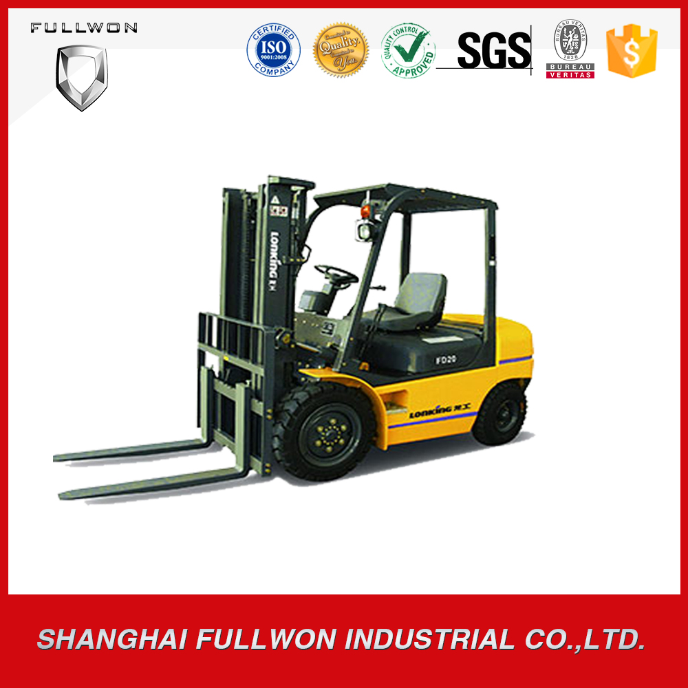Lonking high quality chinese popular 2 ton forklift for sale