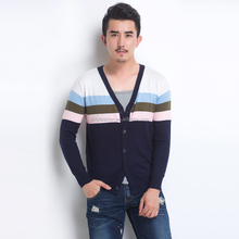 2016 new design china manufactures wool cashmere cardigan sweater for men