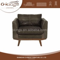 Unique Design Quality-Assured Single Seater Wood Sofa Chairs