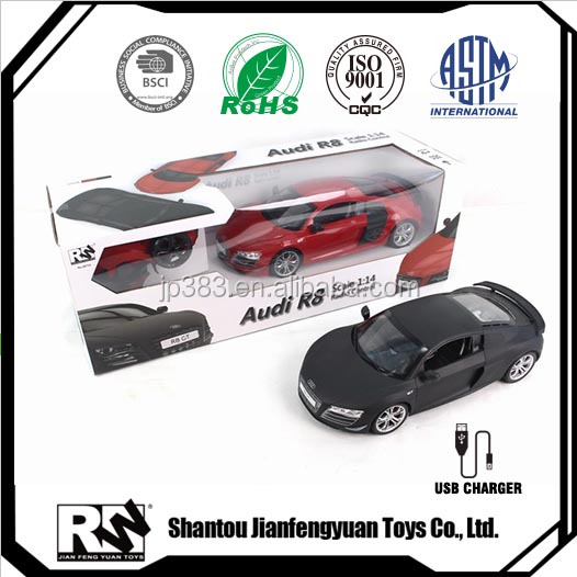 1 14 scale 2.4Ghz 4 ch Rc Car electric car for kids