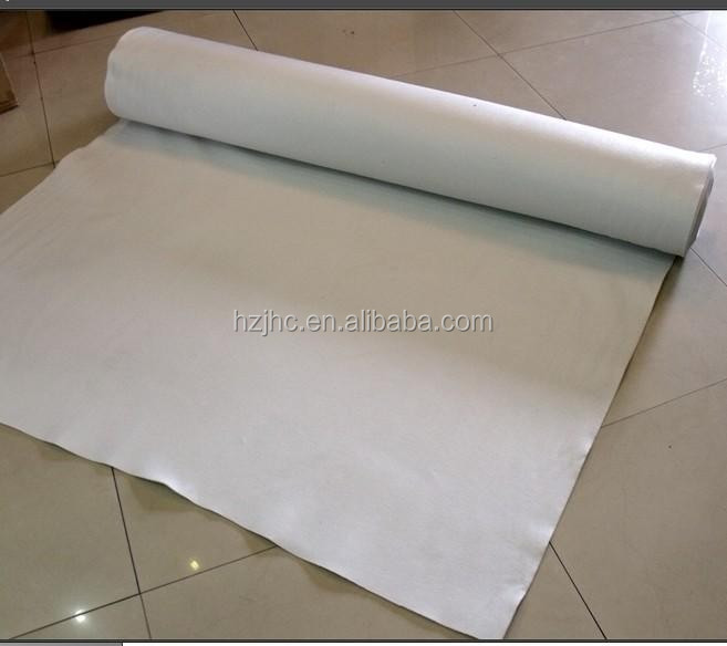 400gsm staple needle-punched 100 polyester non woven fabric / non woven geotextile