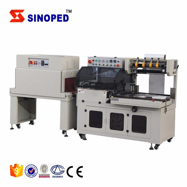 Automatic Shrink Packing and Wrapping Machine for Carton Box