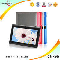 Great Asia 7 inch tablet pc q88 allwinner A33 phablet android 4.4 quad core