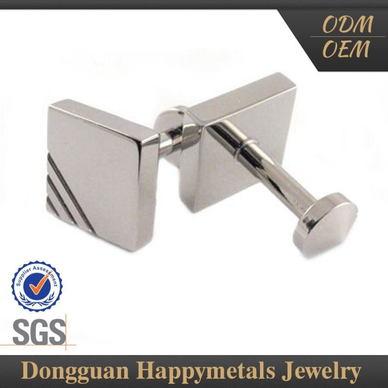 Samples Are Available Stainless Steel Wholesale Sterling Silver Cufflinks