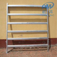 cheap Anping 6 bars portable cattle yard panel fence / horse corral panel / used livestock panel(Factory)