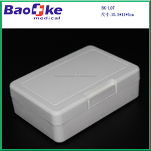 BK-L07 Small White plastic first aid kits as your emergency survival gear for out door Camping, Hiking, Travel, Office, Sports