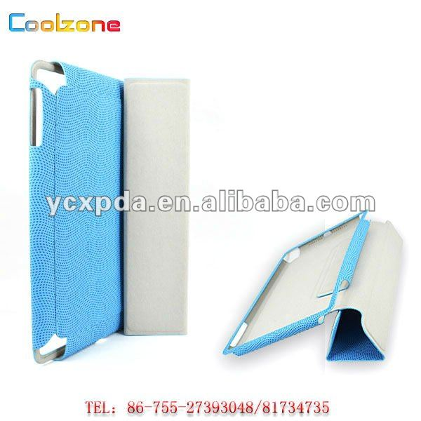 football pattern Leather case for iPad mini,leather case for tablet PC