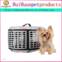 Foldable design lattice soft pet carrier wholesale dog kennel/dog carrier