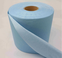 Woodpulp Spunlace nonwoven cleaning wipes