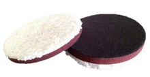Logo Printed DA Microfiber Cutting Disc, Car Care Microfiber Buffing Pads