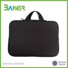 Promotion OEM design Custom printing neoprene laptop sleeve 15.6