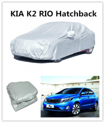 3 layer materials car body Retractable Car Cover made in China for sale Car Cover For K2 RIO Hatchback