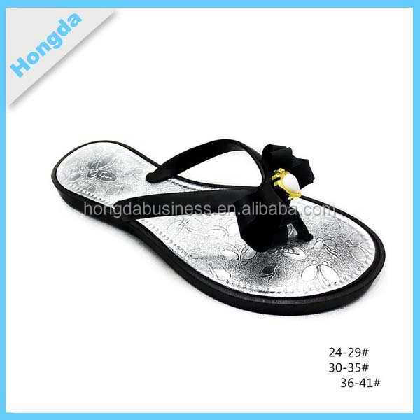 new style ladies classic flat slippers for summer 2015