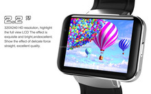 "KOMAY View larger image DM98 Smart Watch 2.2"" touch screen Android 4.4 3G Smartwatch Phone MTK6572 Dual Core 1.2GHz 4GB RO"