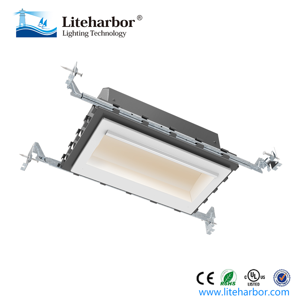 New Designed 2-Light Recessed Mount LED Wall Washing Downlight