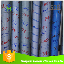 0.5MM 0.6MM 0.7MM Super Clear Soft Plastic PVC Film Roll Packaging PVC Film