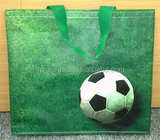 World Cup Eco friendly high quality foldable Shopping bag from Vietnam