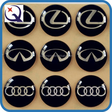 Circular 3d gel patterned label sticker/3d car logo epoxy label Manufacturer