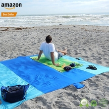 Amazon Sand Repellant Lightweight pocket Compact Beach Blanket