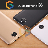 Stylish design for 6inch smart phone with mi mobile price k6 android cellphone