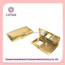 Luxury Gold Empty Compact Powder Case